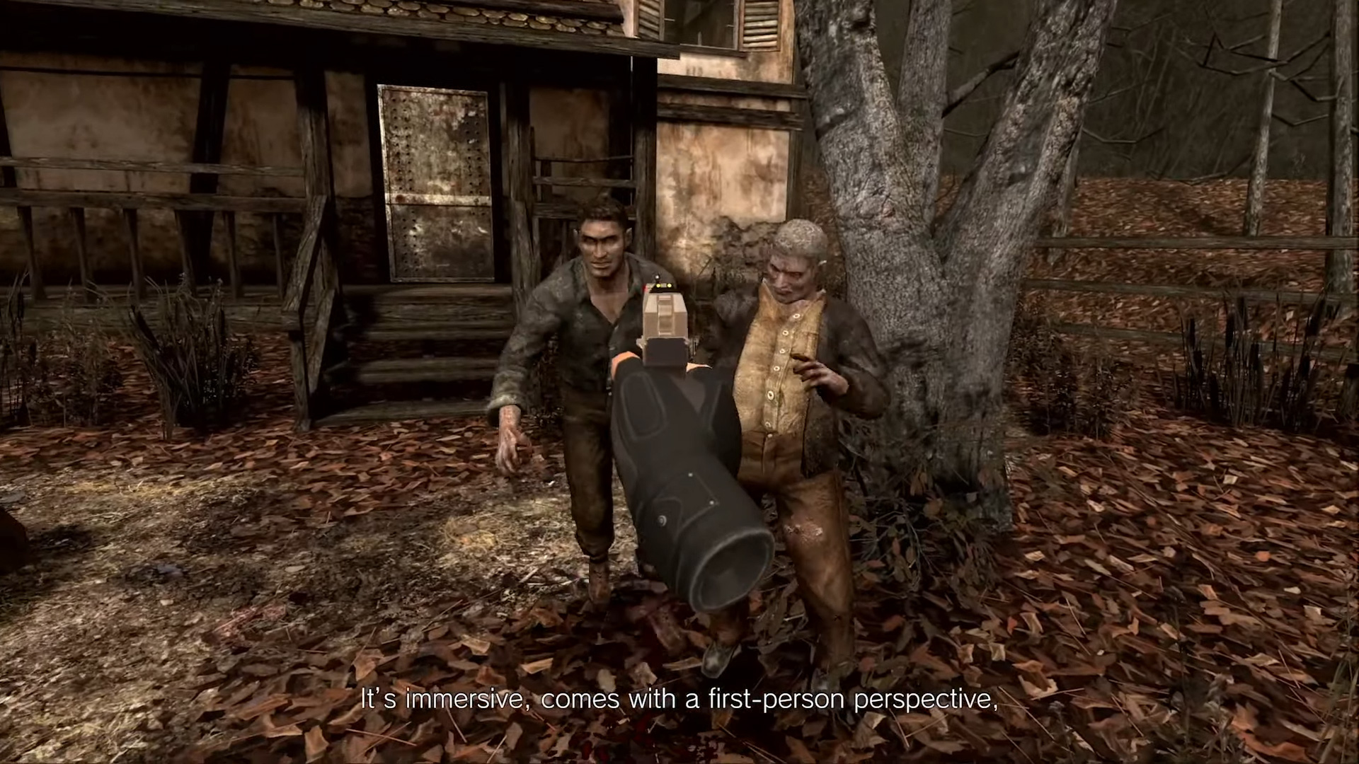 Sign me the hell up for Resident Evil 4 VR screenshot