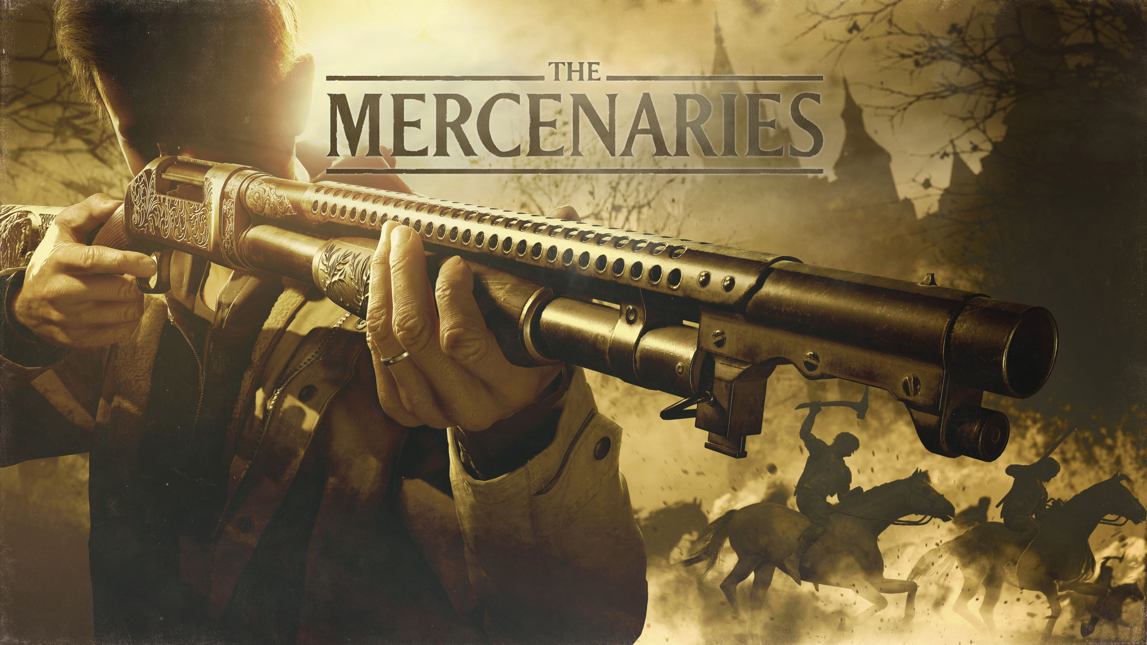 Capcom listened and The Mercenaries is back for Resident Evil Village screenshot