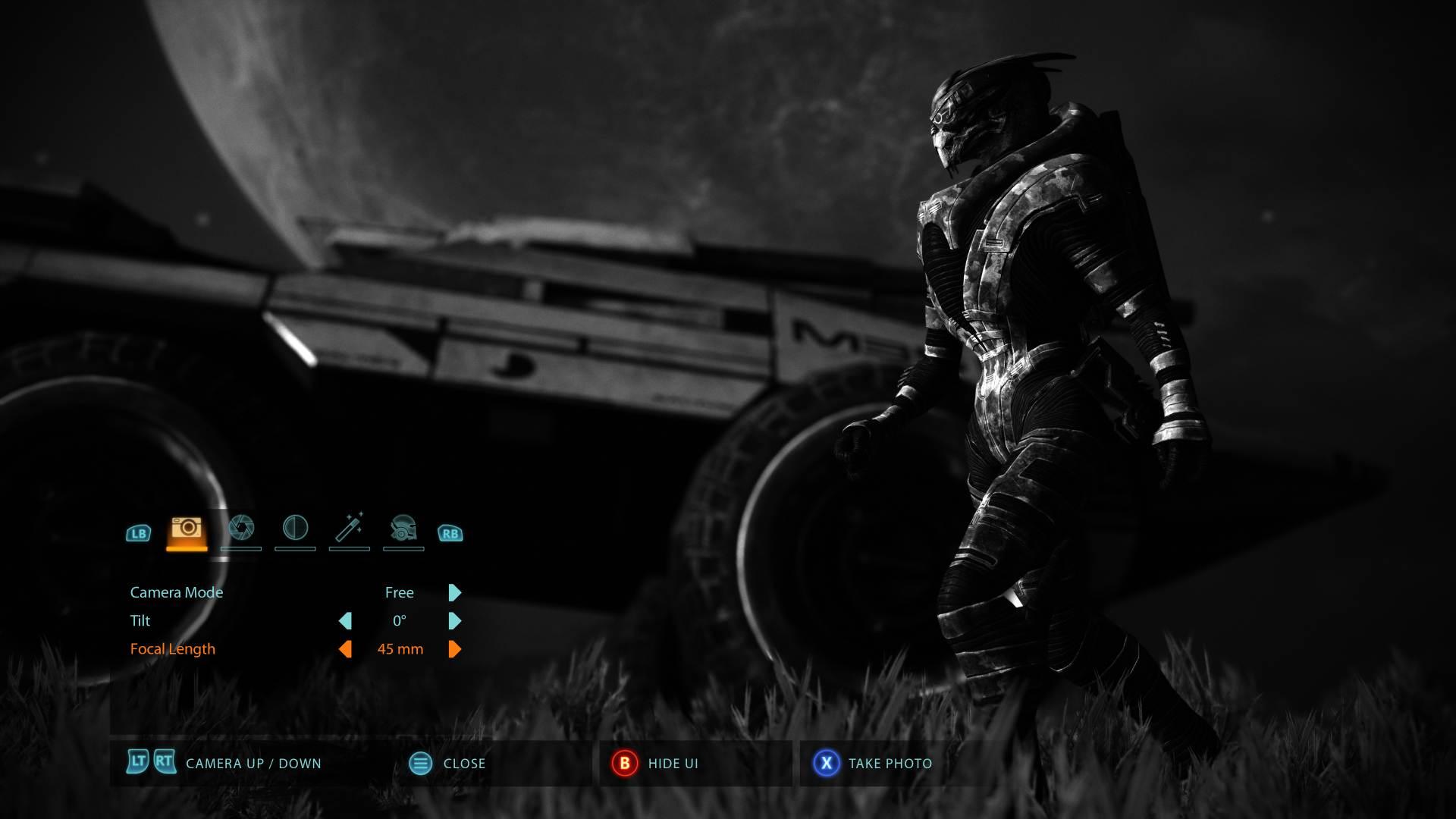 Mass Effect Legendary Edition will have a photo mode screenshot