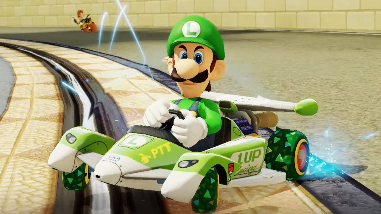 Mario Kart 8 has beaten Mario Kart Wii to become the best-selling racer of all time screenshot