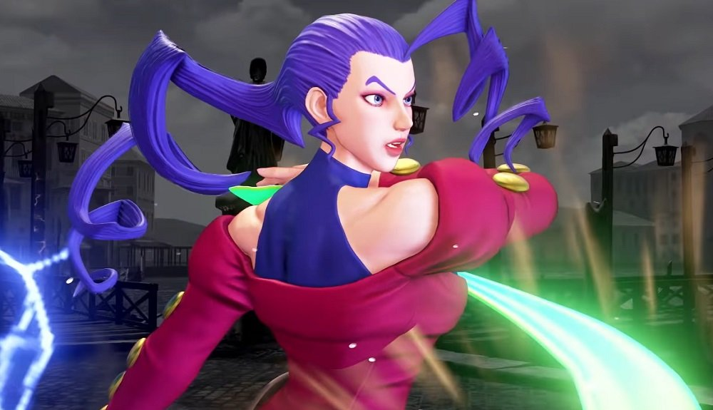 I'm so excited to reunite with Rose in Street Fighter V today screenshot