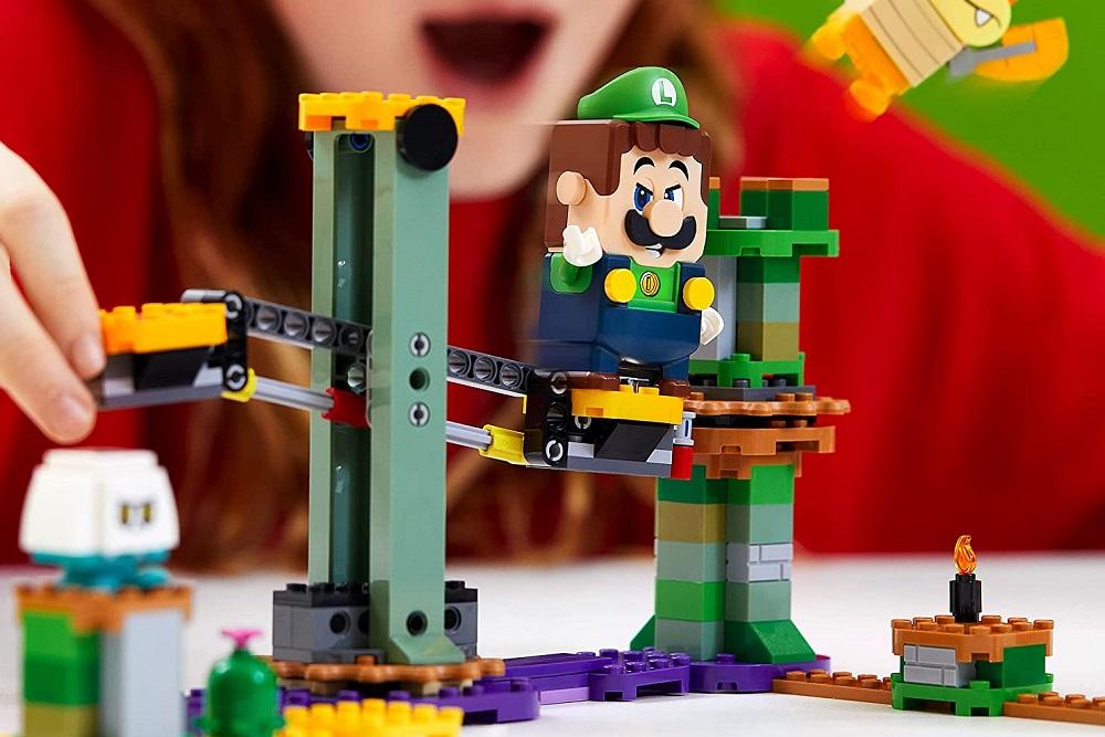 (Update) Amazon China leaks Luigi expansion kit for LEGO Super Mario screenshot