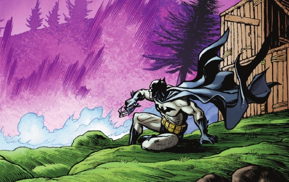 They did it, they put Batman in the Fortnite world screenshot