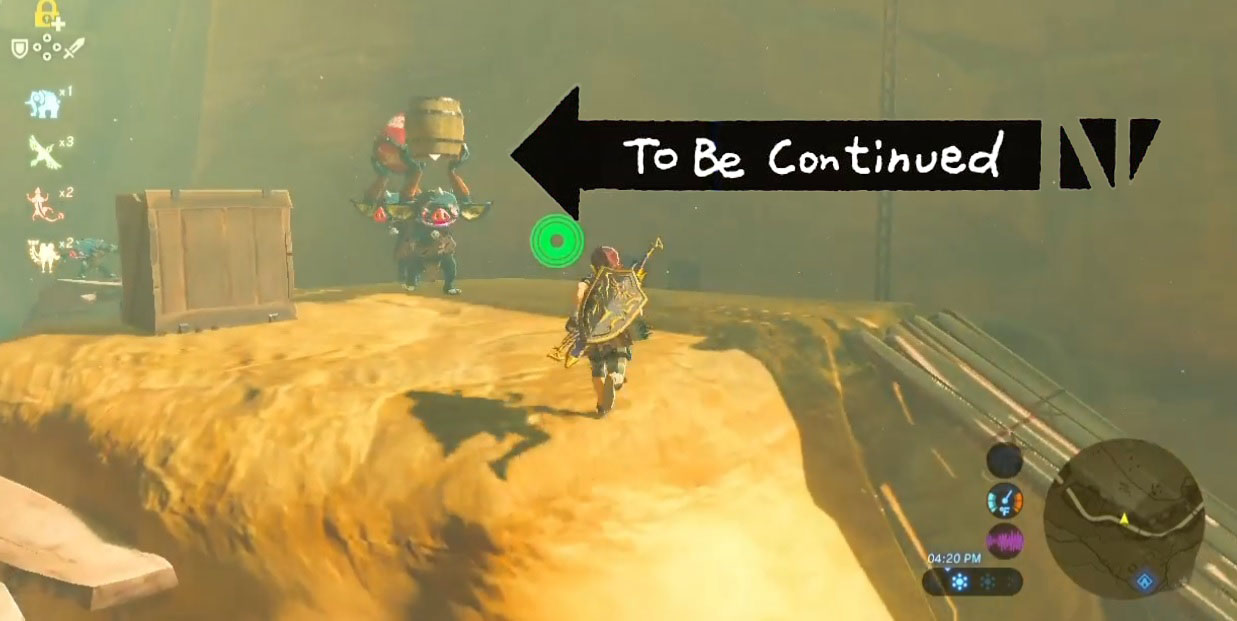 Zelda: Breath of the Wild's Bokoblins are some of the best bumbling enemies of all time screenshot