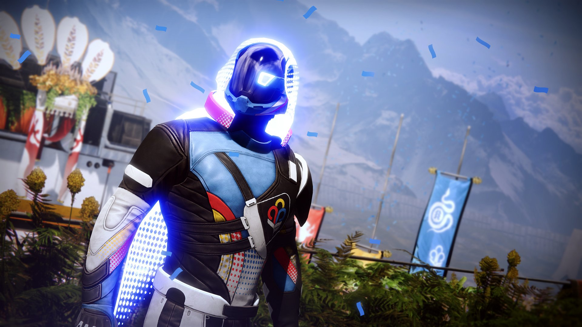The Guardian Games are here in Destiny 2, as is a real-life achievement-exclusive track jacket screenshot