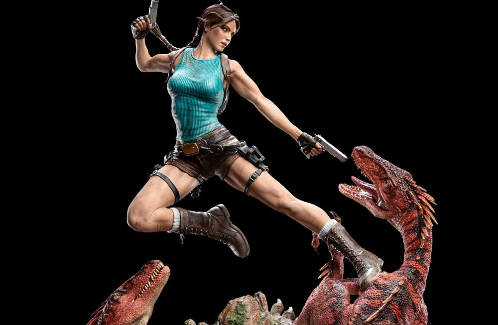 Sell some ancient treasures and you could afford this stylish Tomb Raider statue screenshot