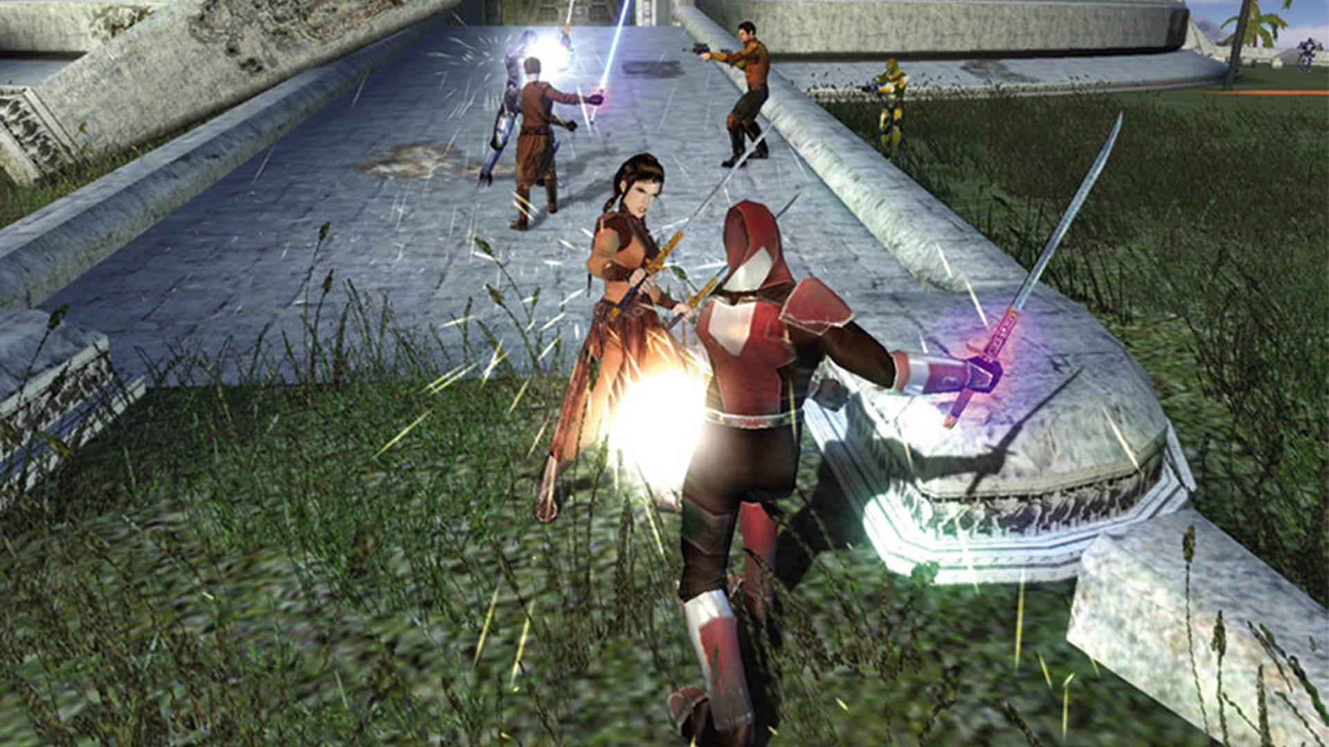 Star Wars: Knights of the Old Republic remake reportedly in the works at Aspyr screenshot
