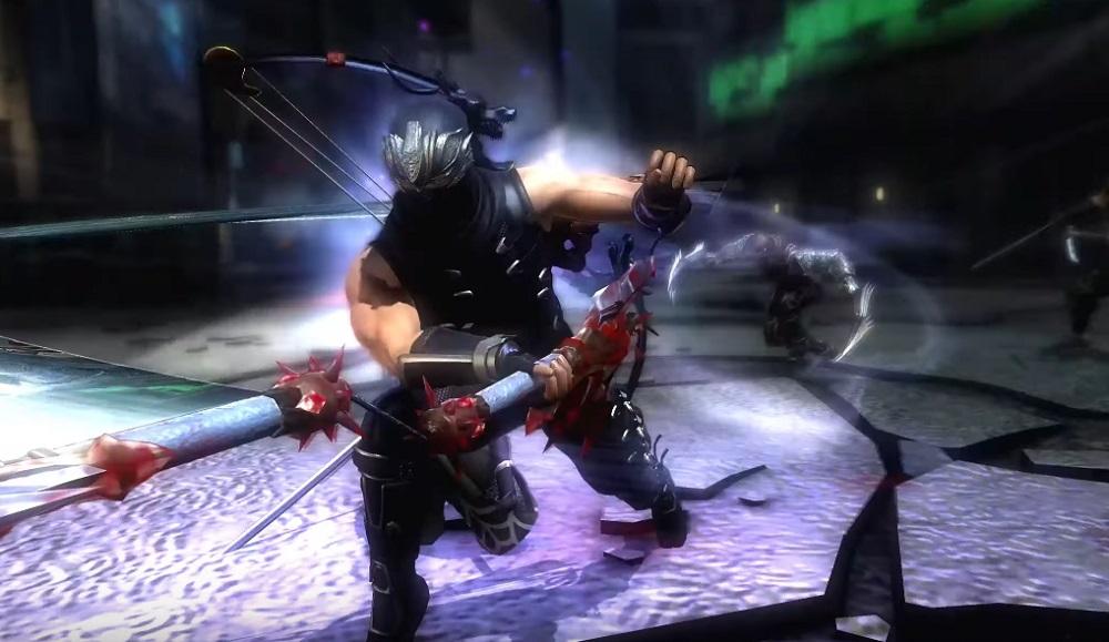 Ninja Gaiden: Master Collection demonstrates Ryu Hayabusa's ninja rap screenshot