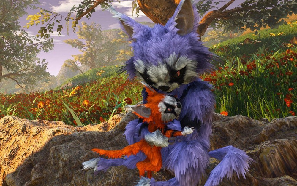 Biomutant is almost here, new trailer shows off its striking fantasy world screenshot