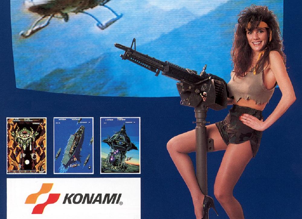 Konami's '87 shmup A-JAX is this week's Arcade Archives release screenshot