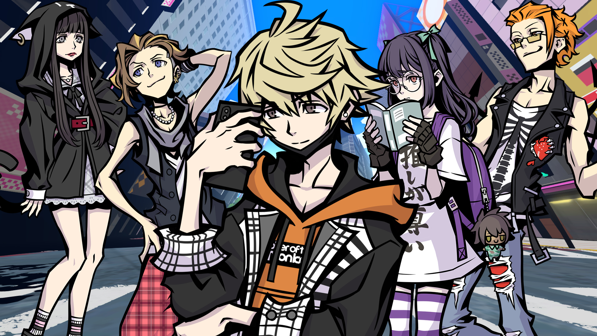 There's a reason NEO: The World Ends with You isn't called The World End with You 2 screenshot