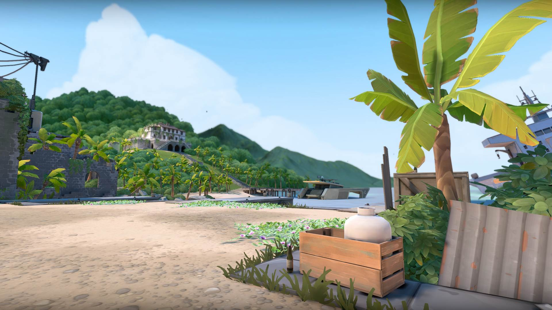 Valorant will take a sunny vacation with its next map, Breeze screenshot