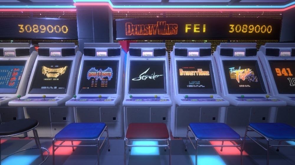 Capcom Arcade Stadium brings coin-op classics to PS4, PC, and Xbox One next month screenshot
