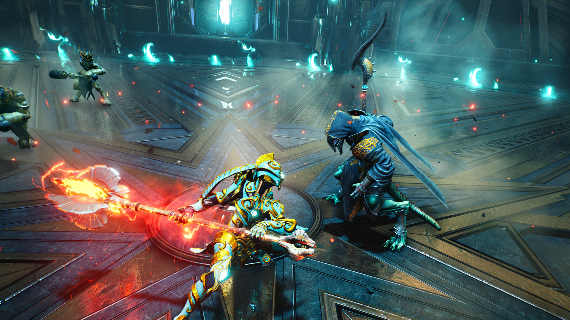 Godfall might be coming to PS4, and I hope it's a smoother launch screenshot