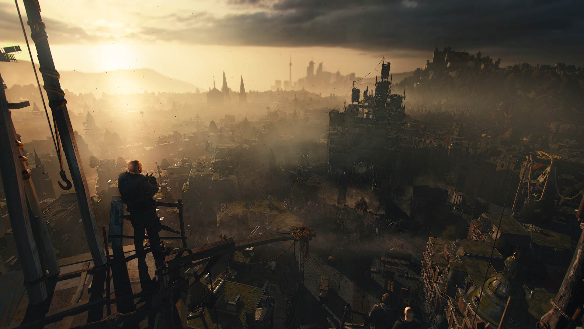Dying Light 2's lead game designer answers some community questions, including the lack of firearms screenshot
