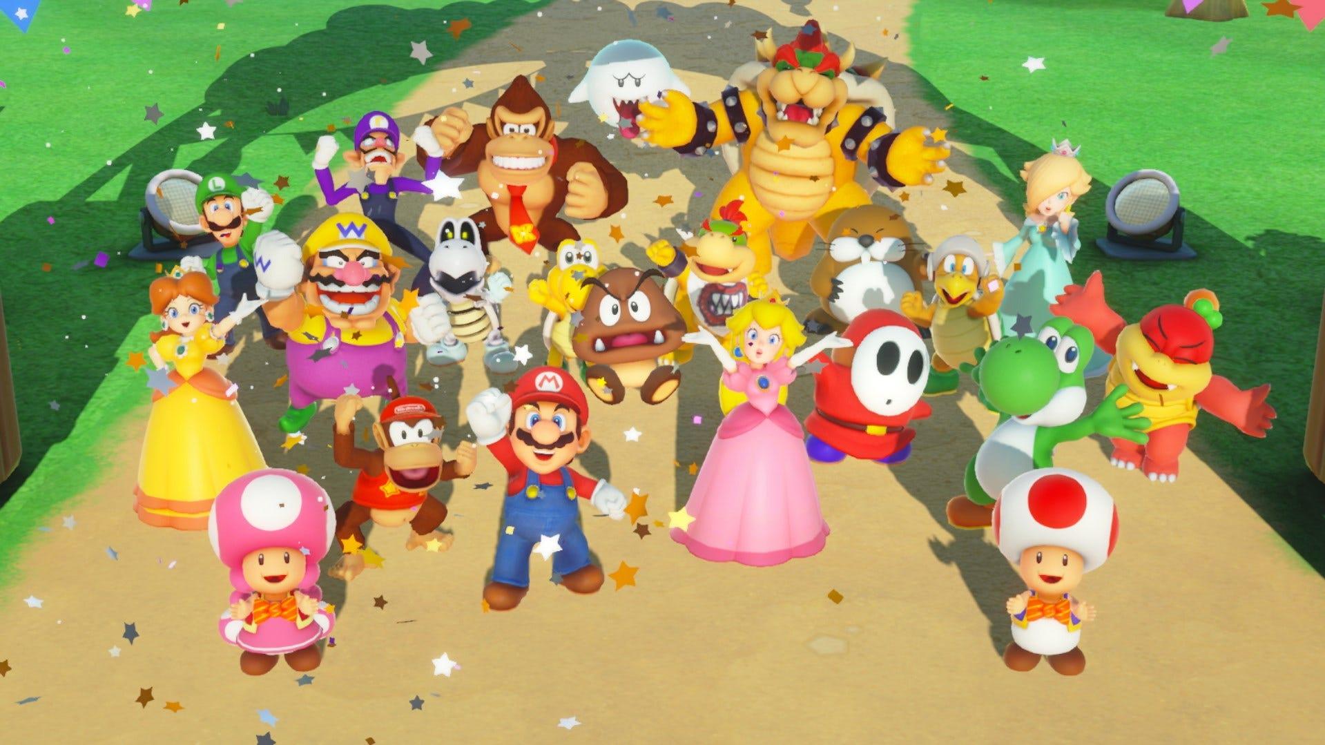 Super Mario Party randomly got a huge update that enables online play screenshot