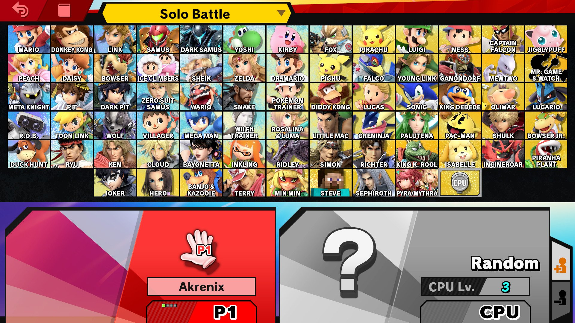 (Update) A modder created a way to take Fire Emblem out of Super Smash Bros. Ultimate screenshot