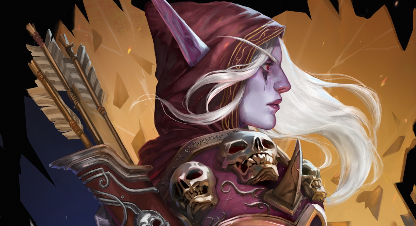 Everyone's favorite WoW character Sylvanas is getting her own book later this year, just don't burn it screenshot