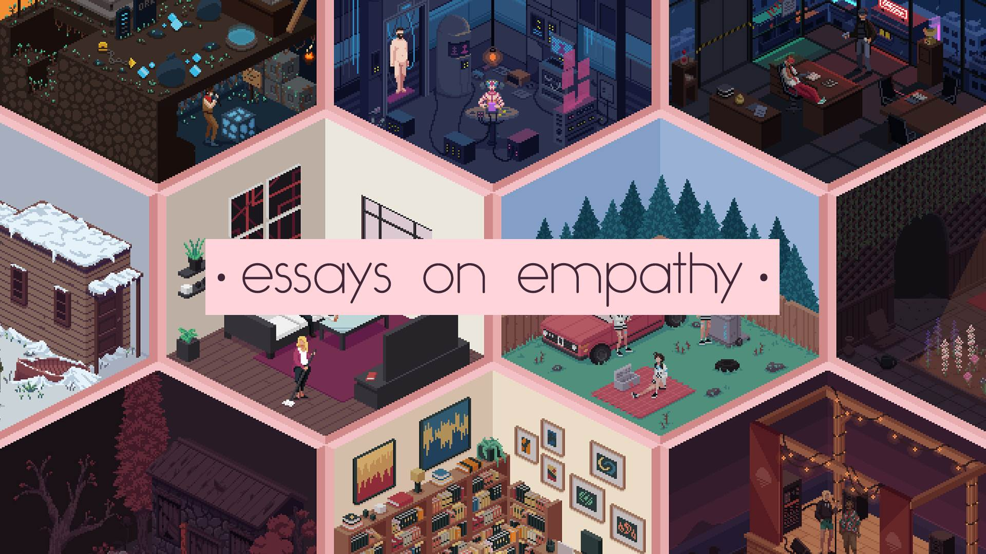 Essays on Empathy are on the way from Deconstructeam and Devolver screenshot