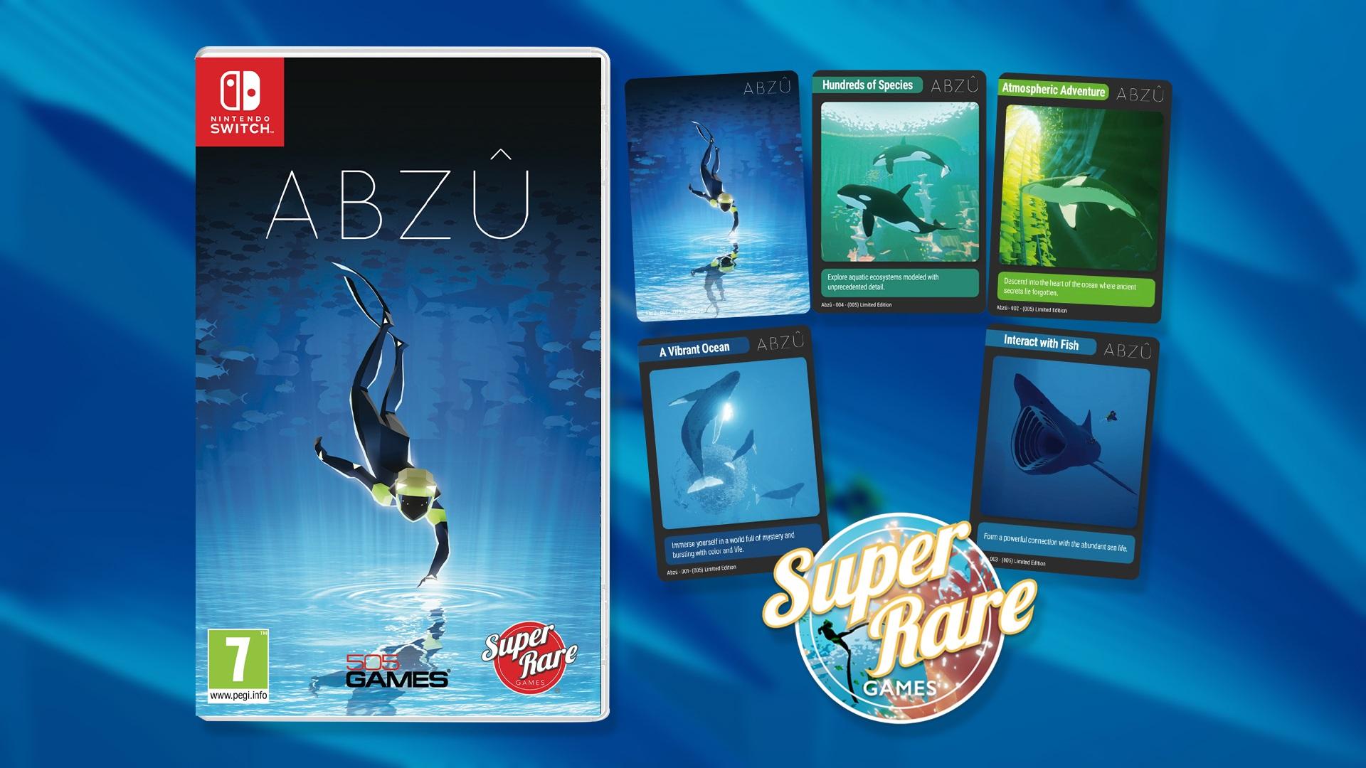 Contest: Win ABZU on Switch from Super Rare Games screenshot