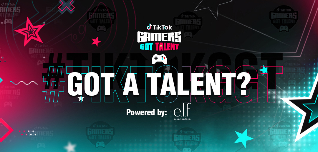 Someone's winning $25K from TikTok Gamers Got Talent, and it could be you screenshot