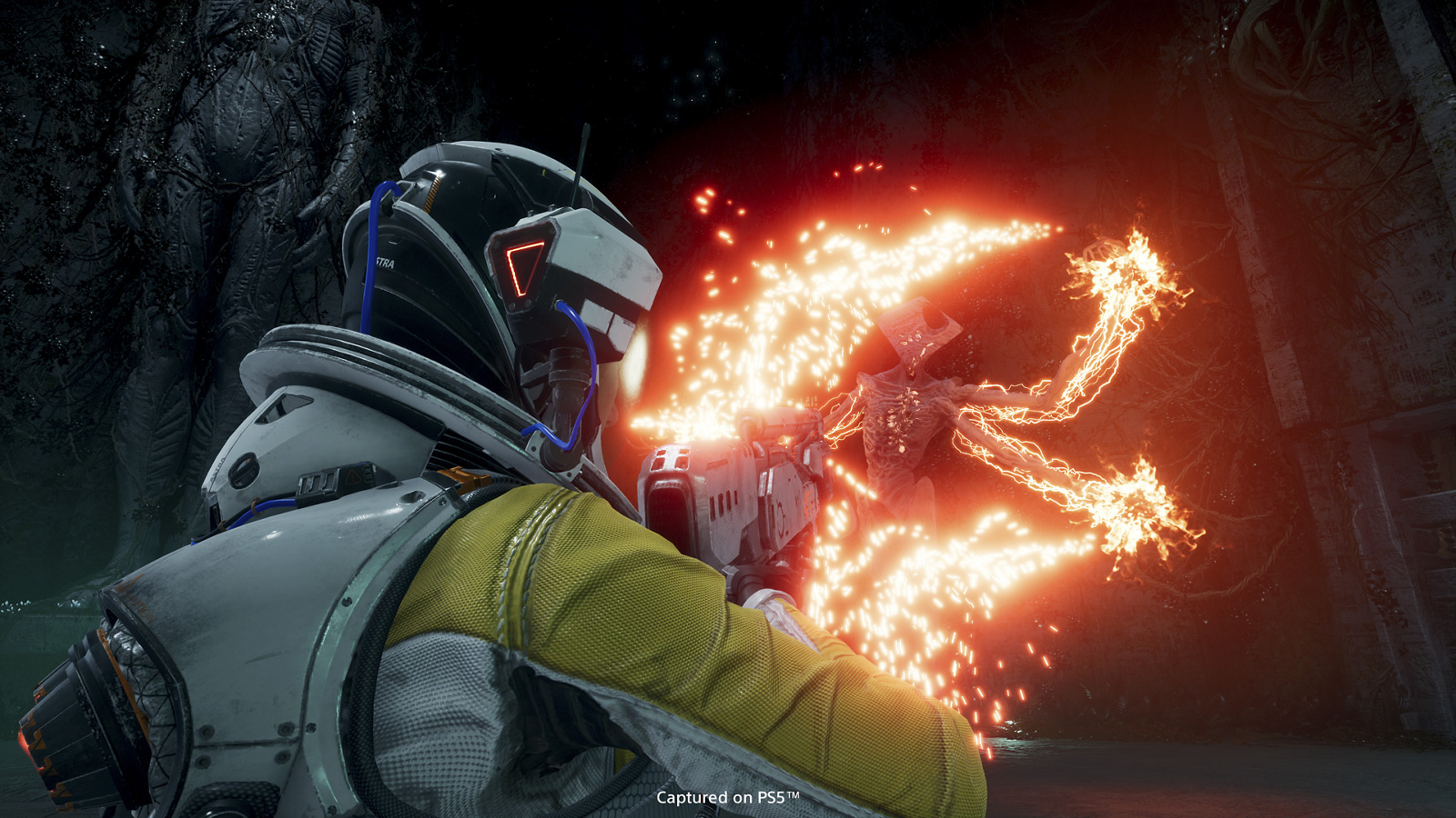Housemarque says it hears the calls for better saving in Returnal screenshot