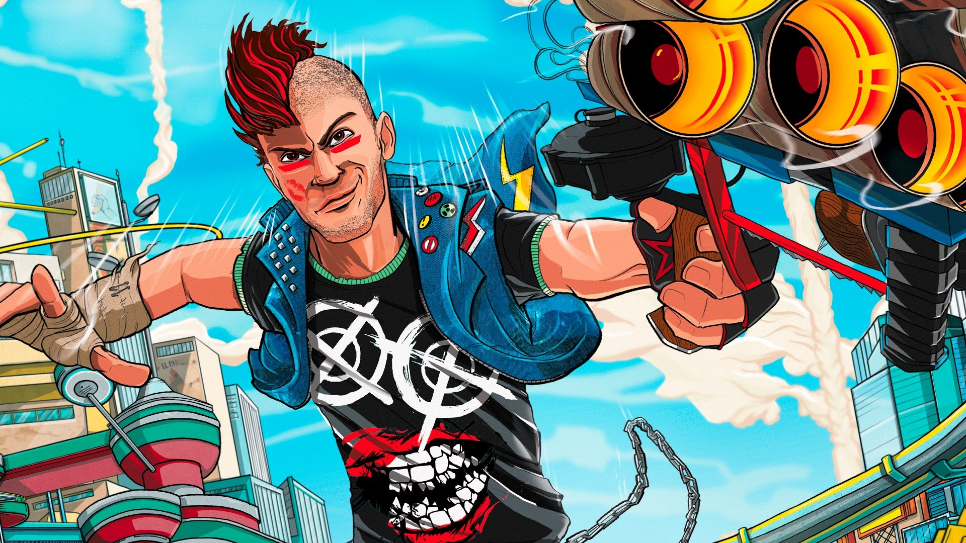 Sony Interactive Entertainment completes trademark of Sunset Overdrive screenshot