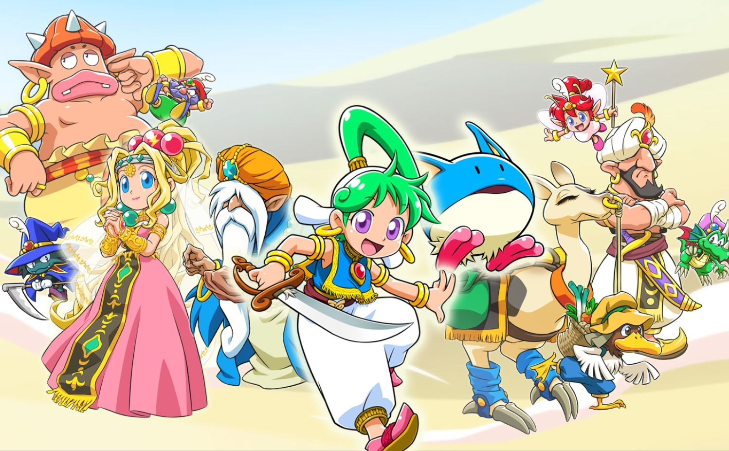 Wonder Boy: Asha in Monster World launches May 28 on PS4 and Nintendo Switch screenshot