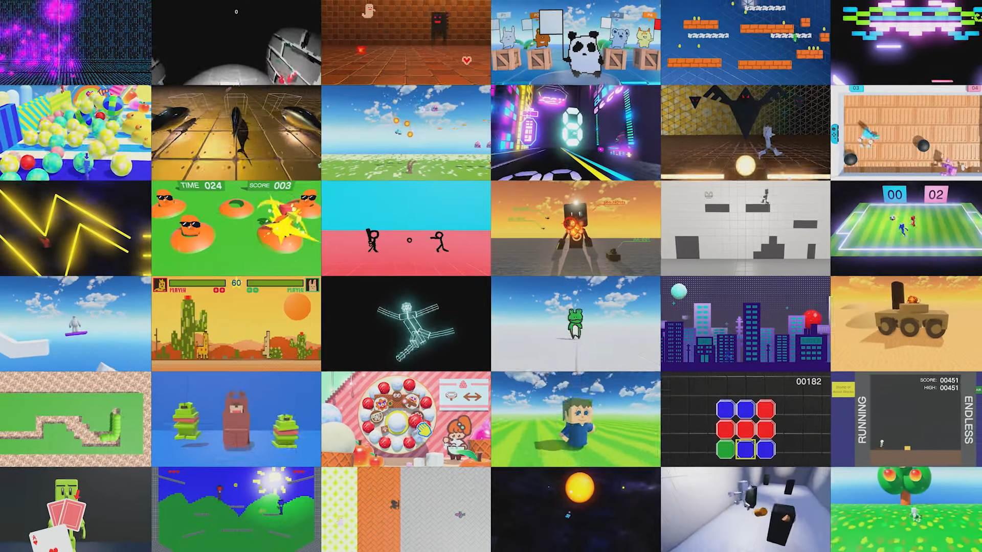 Nintendo announces Game Builder Garage, a game-making game coming next month screenshot
