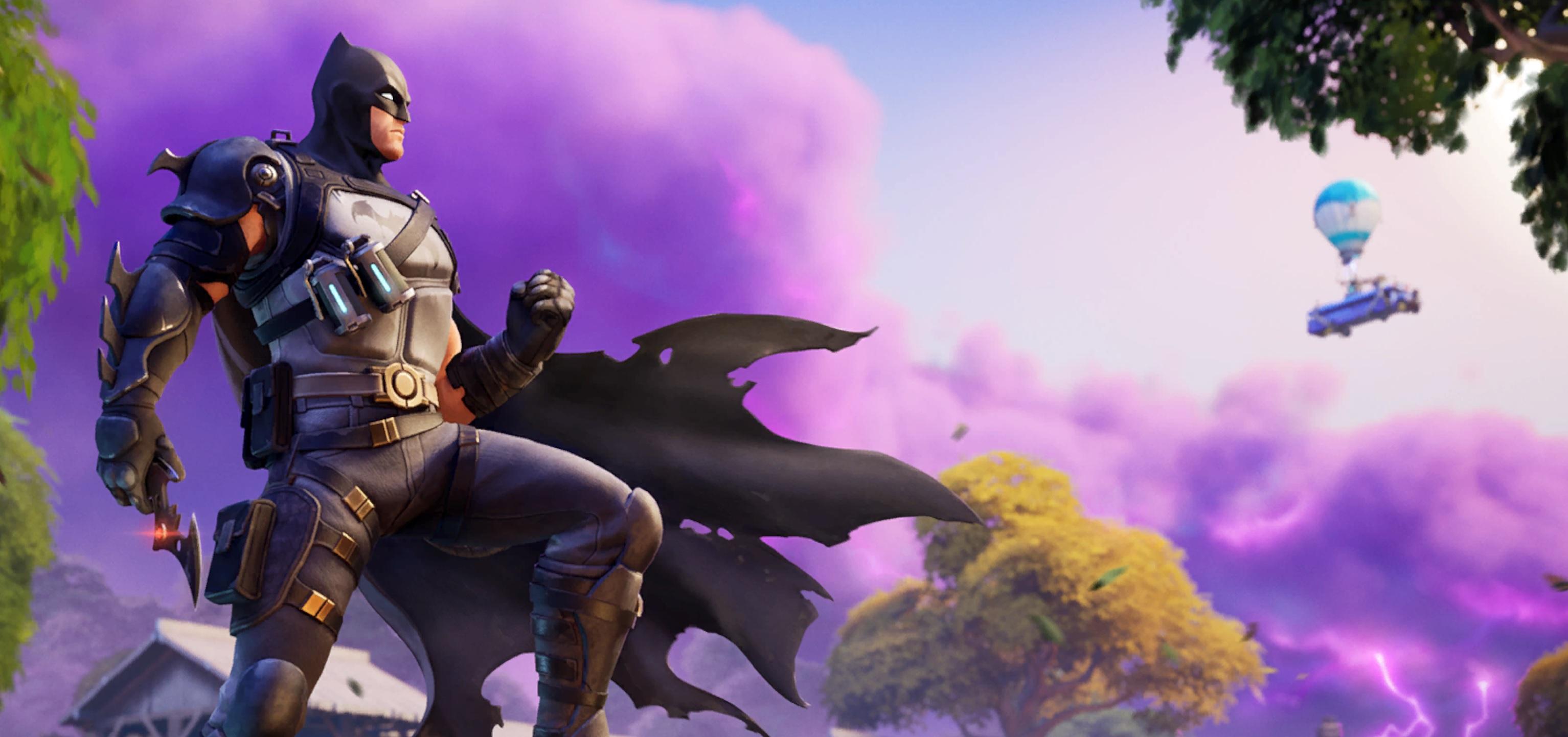 Batman enters Fortnite as his second crossover comic debuts screenshot