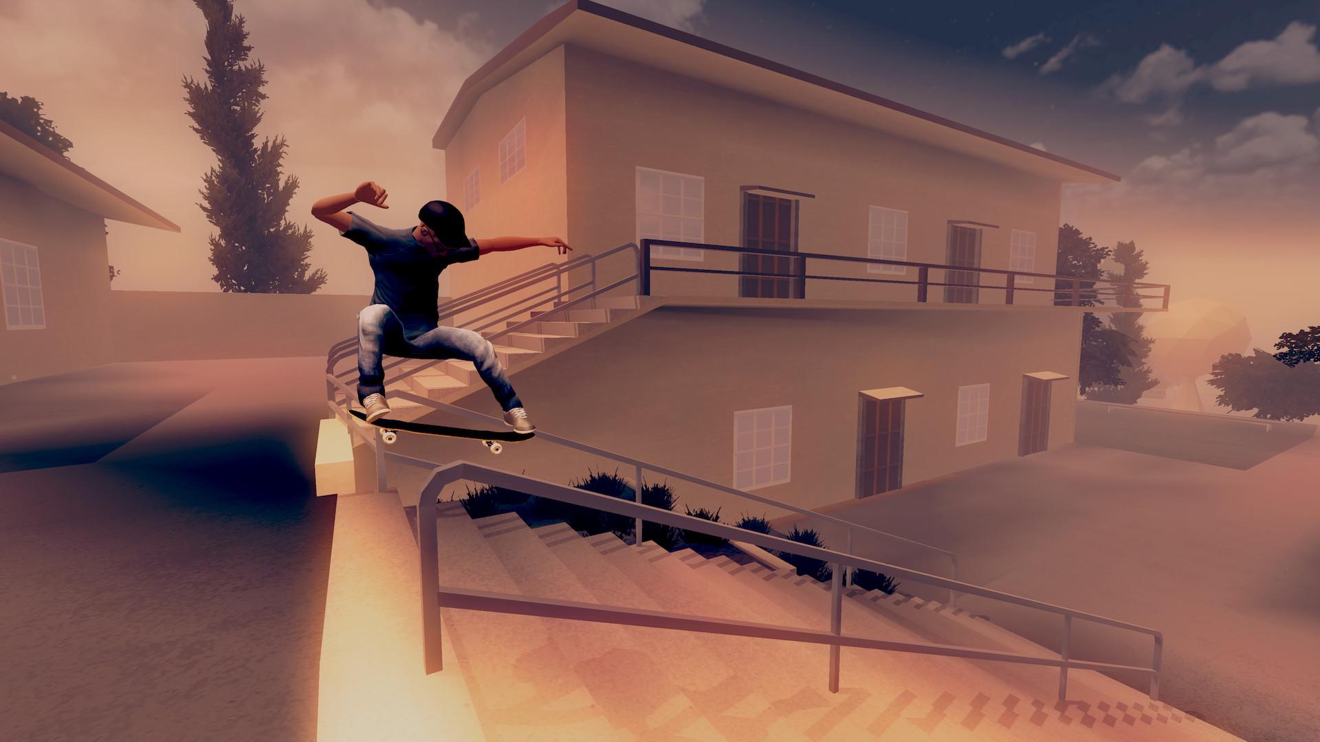 Nintendo Download: Skate City screenshot