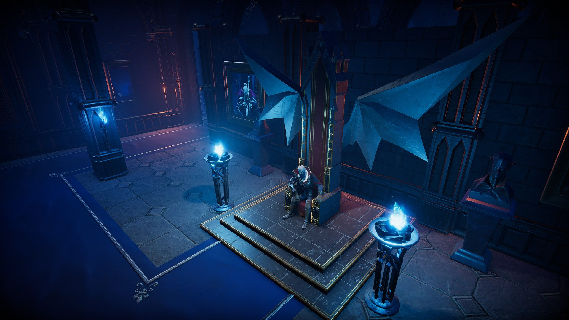 V Rising is a vampire action-adventure game where you get your own castle screenshot