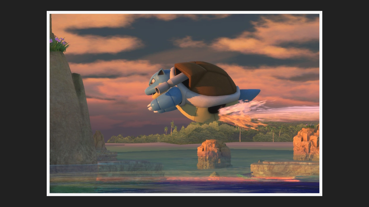 New Pokemon Snap's Blastoise is one of its most magical moments screenshot