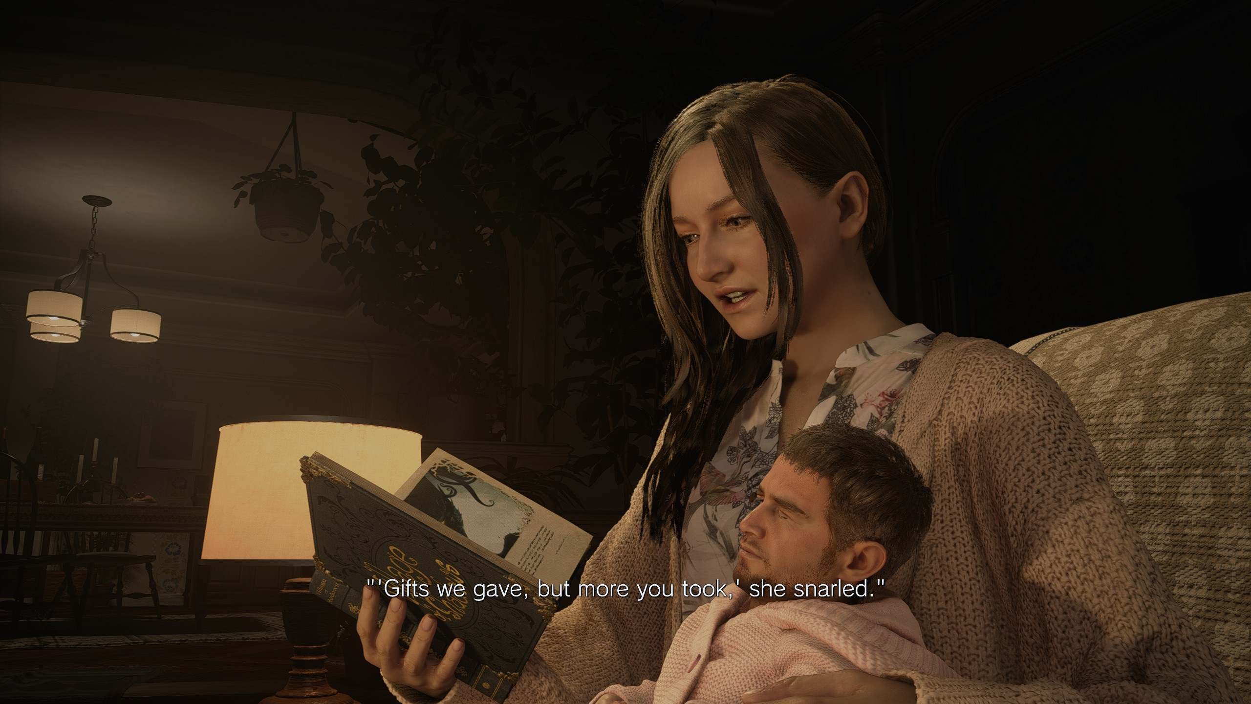 Who says Resident Evil Village isn't scarier than 7? Baby Chris Redfield will haunt your dreams screenshot