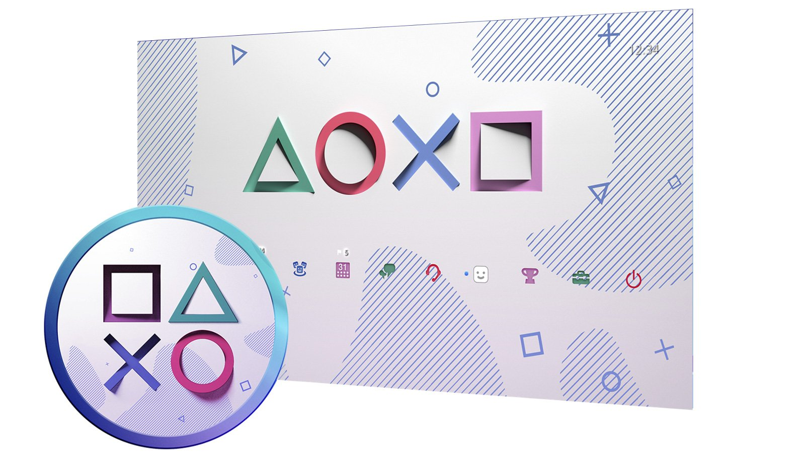 PlayStation is giving out PS4 themes and avatars for Days of Play 2021 screenshot