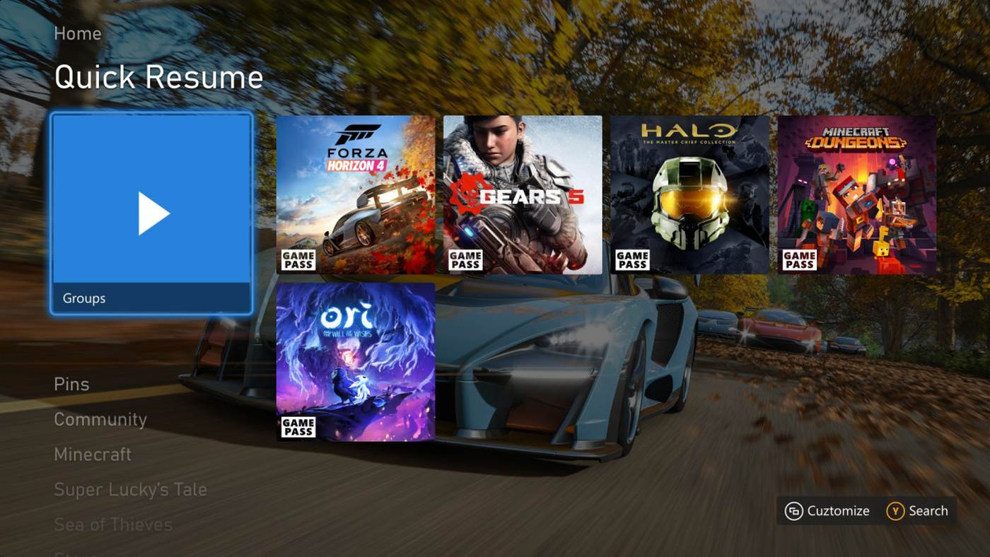 Xbox May update adds more improvements to Quick Resume screenshot