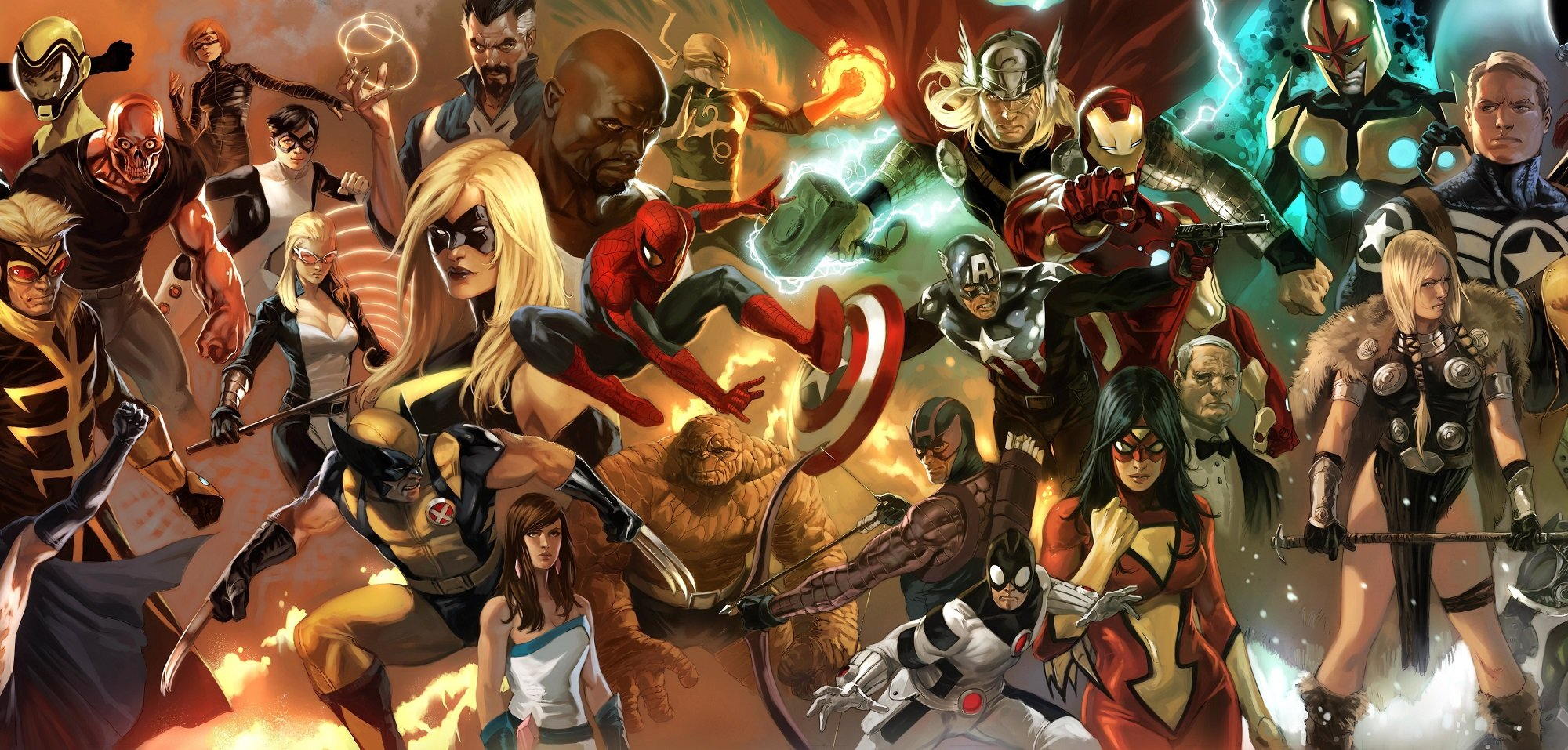 Which Marvel characters would you like to see in their own game? screenshot