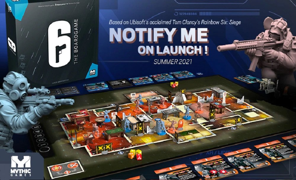 Rainbow Six Siege Board Game looks like the most violent edition of Cluedo ever screenshot