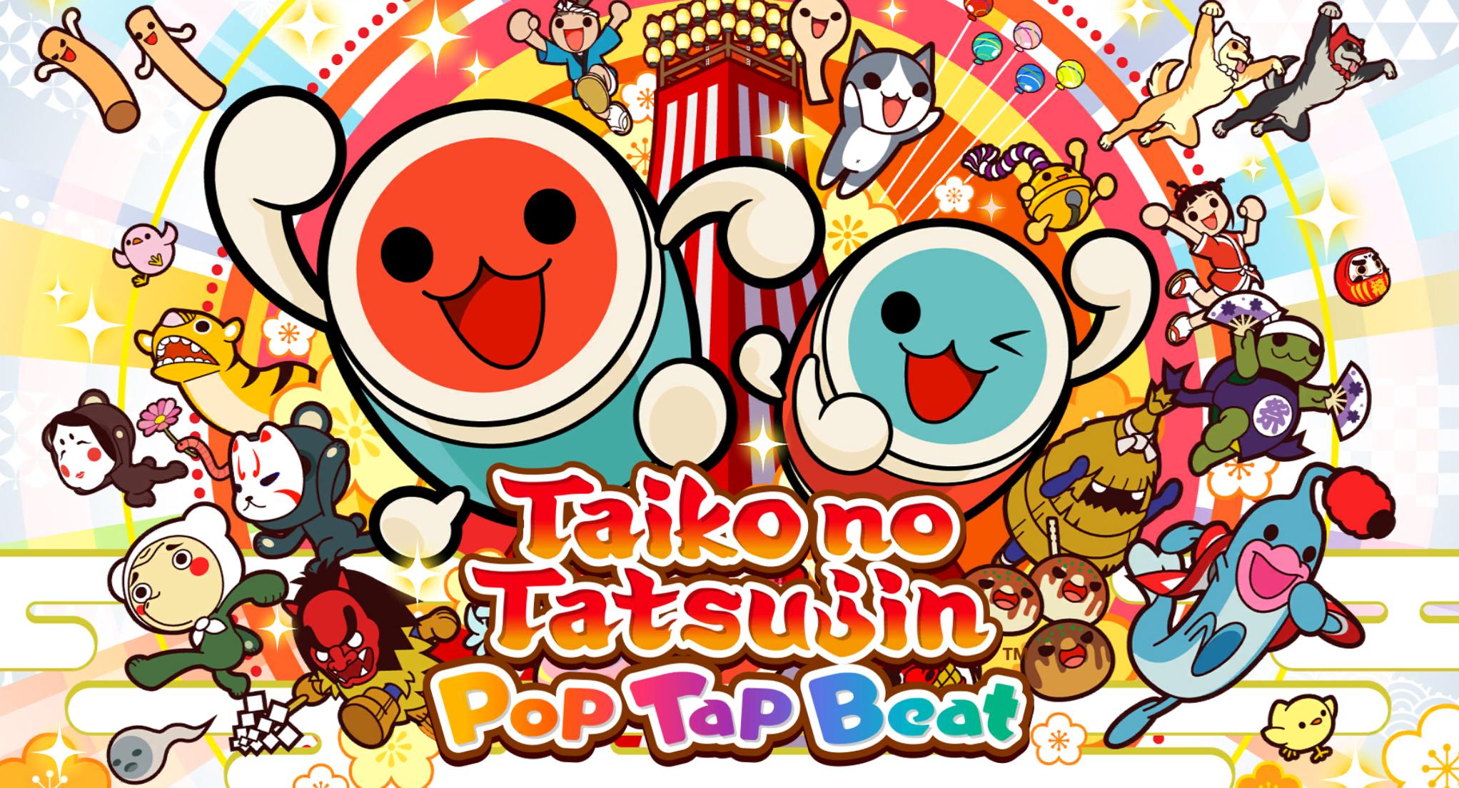 Taiko no Tatsujin Pop Tap Beat is my new happy place screenshot