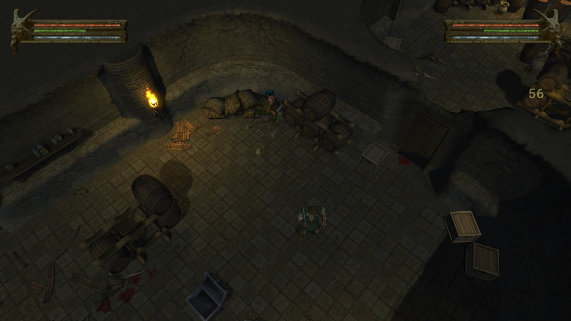 The Baldur's Gate: Dark Alliance re-release is exactly how you remember it, for better or worse screenshot