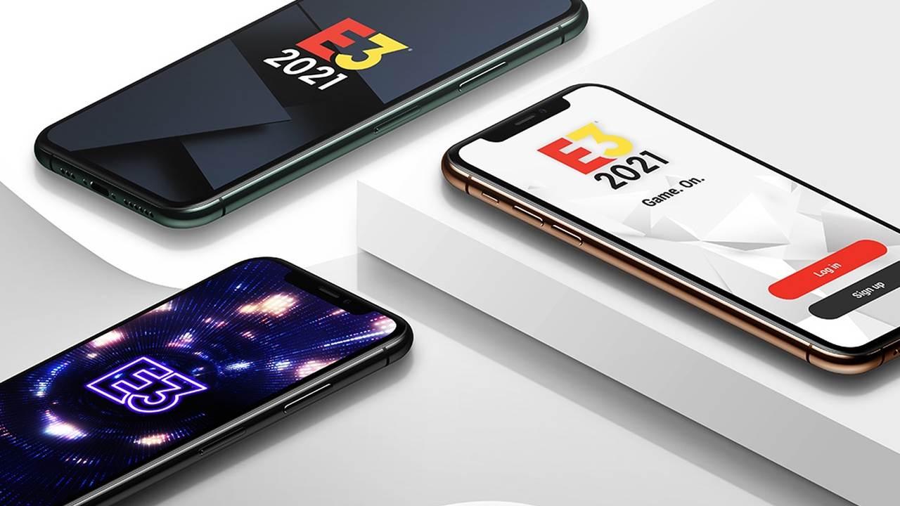 E3 2021's online portal and app detailed screenshot