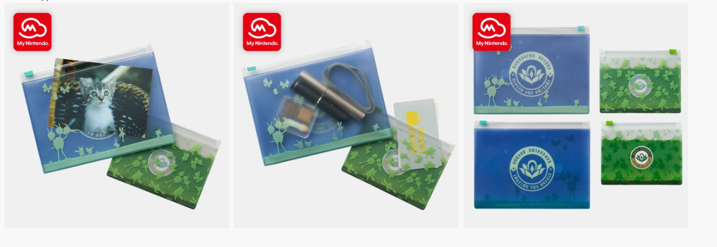 My Nintendo just got some new swag, and a Build-A-Bear contest screenshot