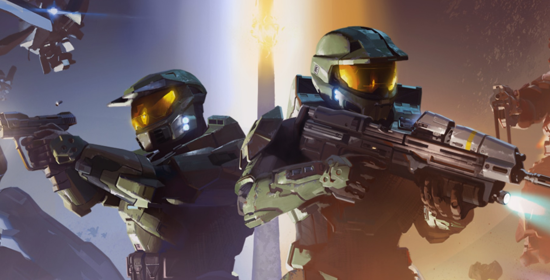 Halo turns 20 this year, and Microsoft is celebrating with a bangin' wallpaper screenshot