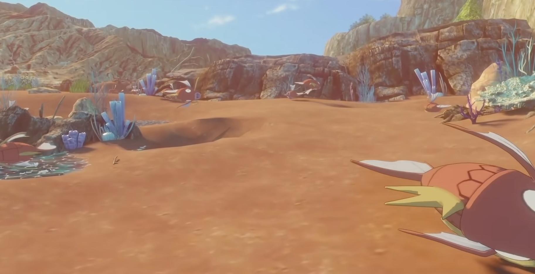 A fan created a more detailed Pokemon Pearl and Diamond remake mockup screenshot