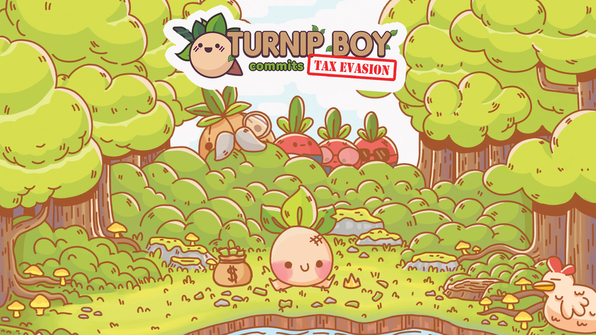 Turnip Boy Commits Tax Evasion fails to live up to the eccentricity of its name screenshot
