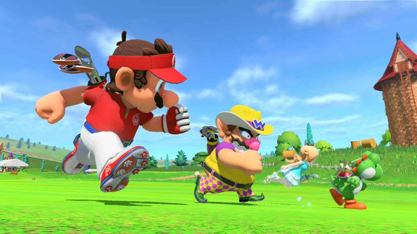 New Mario Golf: Super Rush trailer shows off its modes, from speed and battle to single-player adventure screenshot