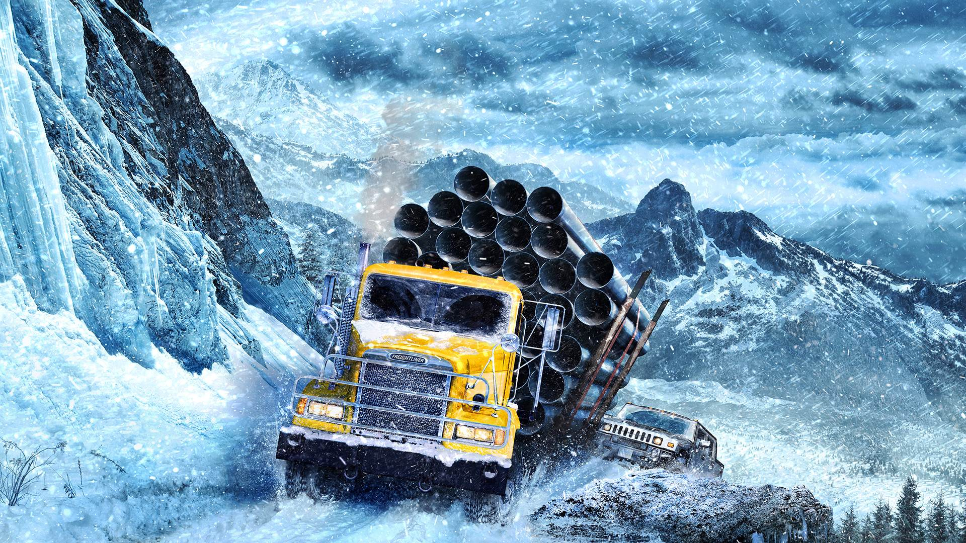 Rough-and-tumble vehicle sim SnowRunner is coming to Xbox Game Pass screenshot