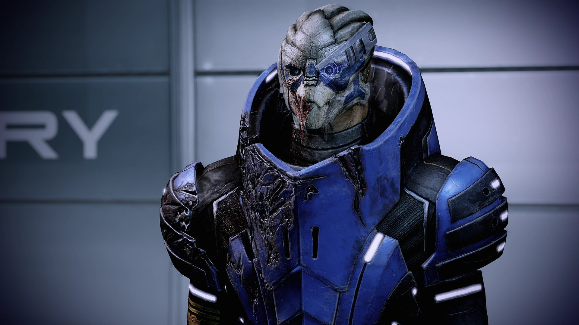 Mass Effect: Legendary Edition didn't ship with an FOV toggle on PC, so fans made one screenshot