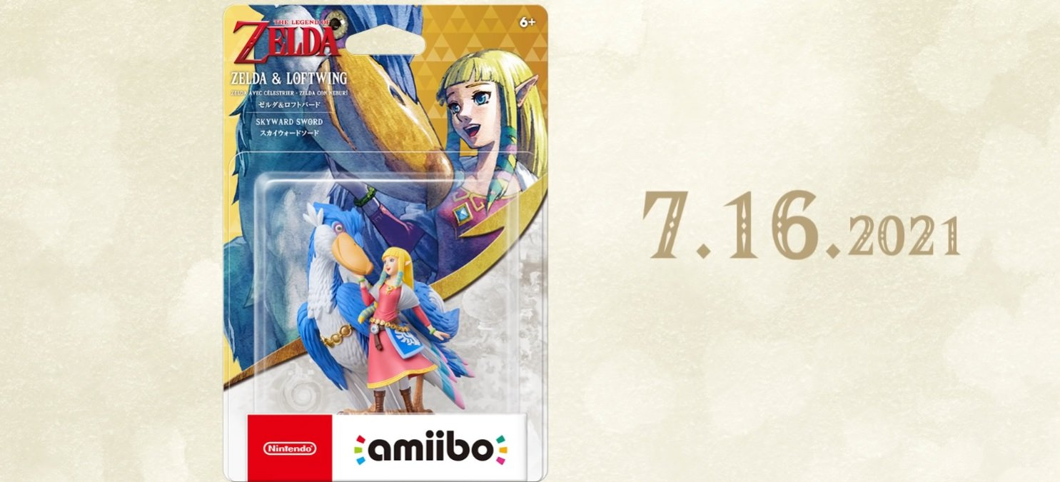 This Zelda: Skyward Sword amiibo is lovely, but its feature should be in the game by default screenshot