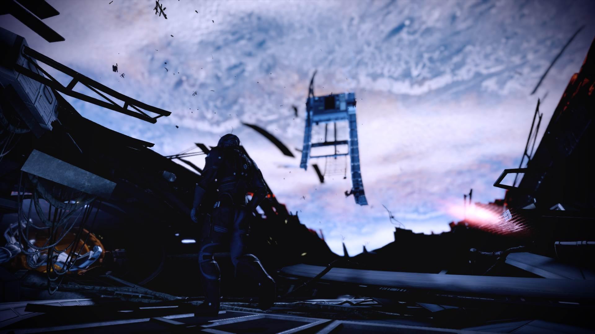 Mass Effect 2's intro still absolutely rules screenshot